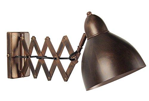tosel-31406-armonica-applica-lamiera-di-acciaio-verniciato-in-bronzo-epossidico-330-x-165-x-200-mm