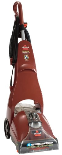 Bissell Powersteamer Powerbrush Full Sized Carpet Cleaner, 1623
