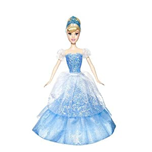 Disney Princess 2-In-1 Ballgown Surprise Cinderella Doll
