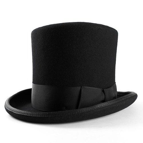ニューヨークハット New York Hat シルクハット Mad Hatter マッドハッター ブラック 5009 (XL(60cm))