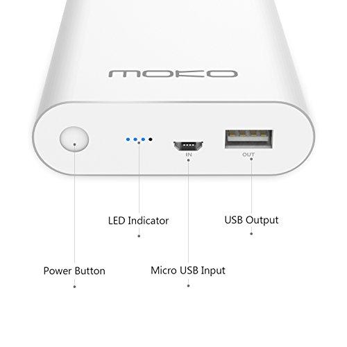 MoKo Quick Charge 2.0 10400mAh Power Bank