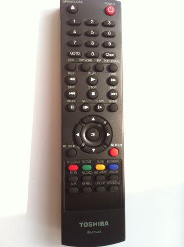 New Toshiba Blu-ray Blue Ray Dvd Player Bd Remote Se-r0418 Work for Almost All Toshiba Brand Blu-ray Dvd Bd Player Bdk33 Bdx2300 Bdx3300 Bdx5300 Ku Toshiba Bdx2300ku Blu Ray, Toshiba Bdx5300ku Blu Ray, Toshiba Bdx2300 Blu Ray, Toshiba Bdx5300 Blu Ray, Toshiba Bdk33 Blu Ray, Toshiba Bdx3300 Blu Ray, Toshiba Bdk23 Blu Ray, Toshiba Bdk23ku Blu Ray, Toshiba Bdk33ku Blu Ray, Toshiba Bdx3300ku Bdx4300ku Blu Ray Bdx2300 and Bdx5300---(please Remove the Rc-017 Label, Then Will See Toshiba Logo) (Dvd Player Remote Control compare prices)