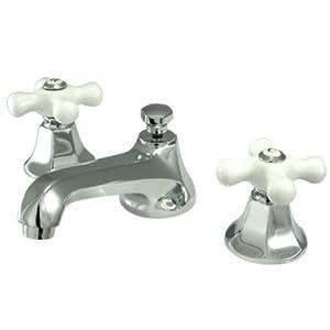 Cross Handle Bathroom Sink Faucet : tools home improvement rough plumbing faucet parts faucet handles