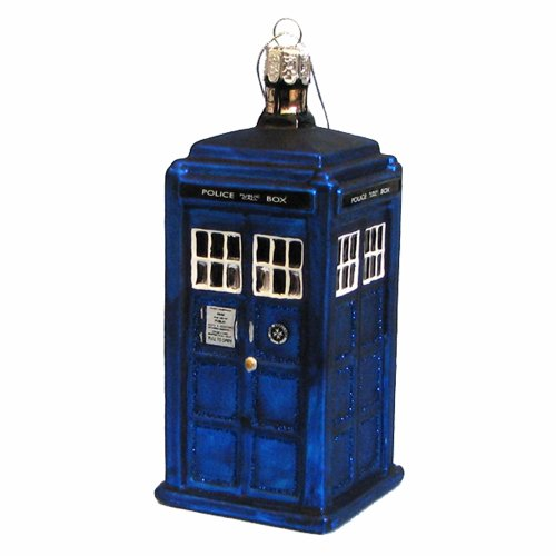 kurt-adler-doctor-who-tardis-figural-ornament-glass