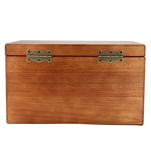 High Gloss Wooden Jewellery Box Luxury Earring Ring Necklace Storage Case With Lid 3 Layers Cosmetic Makeup Organizer Mahogany Katoot