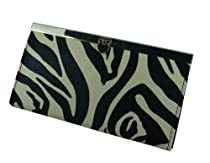 ZEBRA GOING OUT CLUTCH WALLET PURSE BY DESIGNSK
