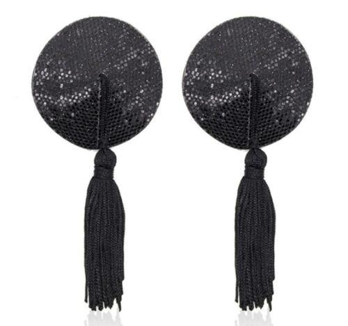 Accessoire-beaut-sexy-bijou-de-seins-cache-ttons-nipples-paillettes-noires