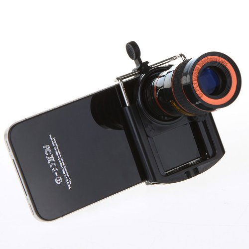 New Arrival!!! Limited Sale!!! 8X Zoom Universal Camera Lens Telescope + Mini Tripod For Mobile Phone Iphone In Cell Phones