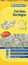 Correze/Dordogne (Michelin Local Maps)
