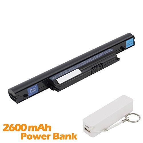 Battpit Batterie d'ordinateur Portable de Remplacement pour Acer Aspire 4820TG-7805 (4400mah / 48wh) avec 2600mAh de banque de puissance / batterie ex