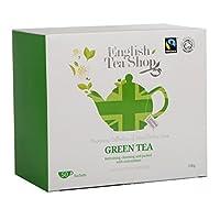 English Tea Shop Diamond Jubilee Green Tea, Organic & Fairtrade, 50 Sachet Tea Bags