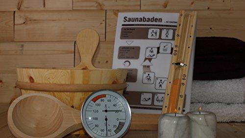 Karibu Saunazubehör-Set Classic 6 teilig
