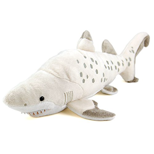 Colorata realistic stuffed animals sand tiger shark m size for Life size shark plush