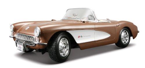 Maisto-31139-Chevrolet-Corvette-57-118-farblich-sortiert