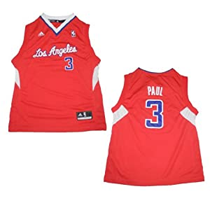 NBA LOS ANGELES CLIPPERS PAUL #3 Youth Athletic Jersey Top by NBA