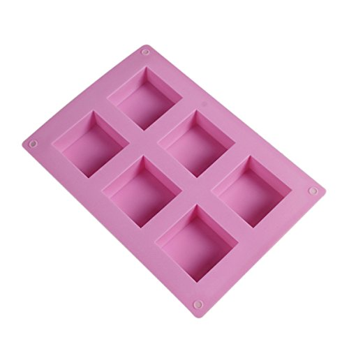 Suziku(Tm)Silicone Oven Handmade Soap Molds Diy Soap Mold back-224729