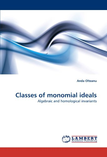 Classes of monomial ideals: Algebraic and homological invariants