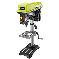 The 5 speed selections of the Ryobi 10 in. Drill Press helps you complete a wide range of drilling applications. Powered by a heavy-duty induction motor for long-lasting performance, this drill press swivels 360-degrees and accepts mortising attachme...