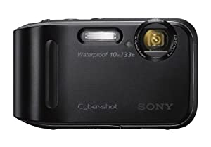 Sony DSC-TF1/B 16 MP Waterproof Digital Camera with 2.7-Inch LCD (Black)
