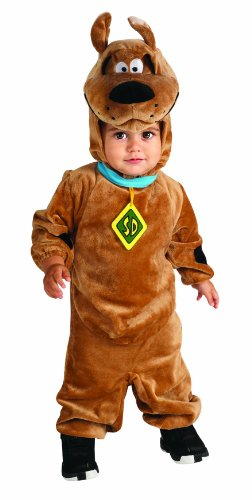 Scooby Doo Romper Costume, Brown, 12-18 Months