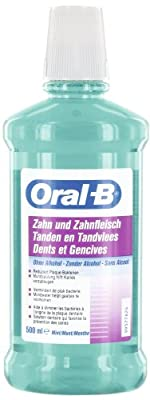 Oral-B Zahn & Zahnfleisch Mundspülung 500ml, 3er Pack (3 X 1 Stück)
