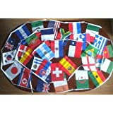 Polyester 2010 World Cup Bunting ~ Rectangular Flagsby Party Bits & Bobs