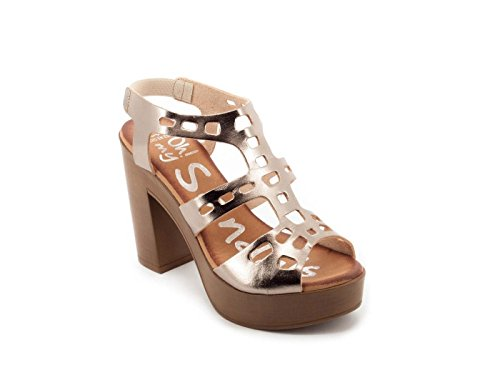 Pelle oro Oh my Sandals Sandalo 3507 35 Oro