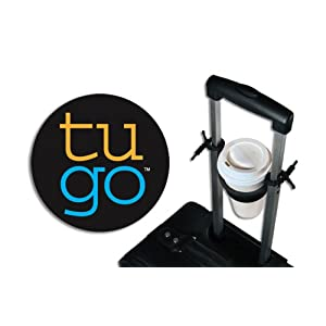 Click to read our review of tugo Rolling Luggage Drink Holder!