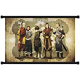 """Avatar: The Legend of Korra Cartoon Old Friends Fabric Wall Scroll Poster (32"""" x 20"""") Inches"""