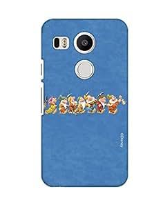 Pick Pattern Back Cover for LG Nexus 5X