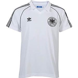 adidas T-Shirt Originals Deutschland Retro, Weiß, L, W46116