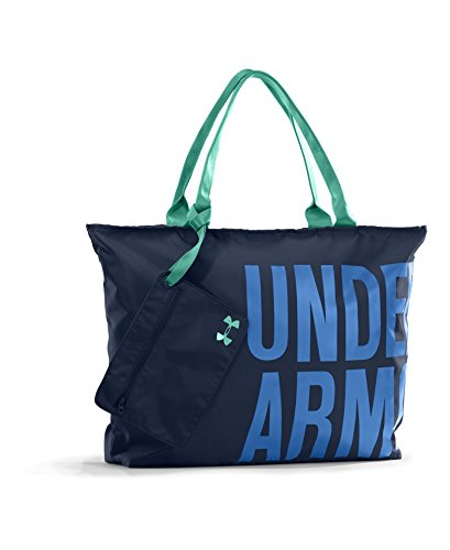 Under Armour Women's Big Word Mark Tote Bag, Academy, One Size image