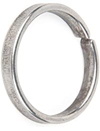 Shraddha Shree Gems 1 Pc Asli Kaale Ghode Ki Naal Ki Ring / Black Horse Shoe Iron Ring