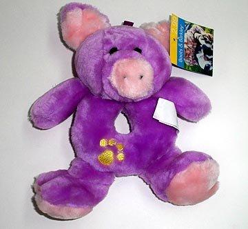 Puppy Teether Pig Dog Chew Toy