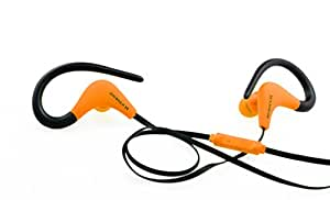Xtreme Cables Wired Headset for Compatible Any 3.5mm Device - Retail Packaging - Orange