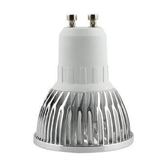 10er Auralum 4W GU10 LED Strahler 230V 360LM High Power Warmweiß