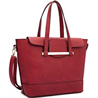 Dasein 2-in-1 Faux Leather Mini Satchel Handbag (Multiple Colors)