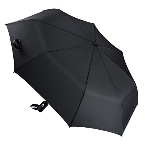automatic-folding-umbrella-super-size-103-cm-diameter-satubrown-fast-drying-compact-travel-black-umb