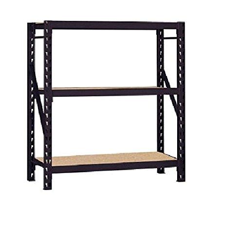 Edsal Erz601866pb3 Muscle Rack Black Steel Bulk Storage