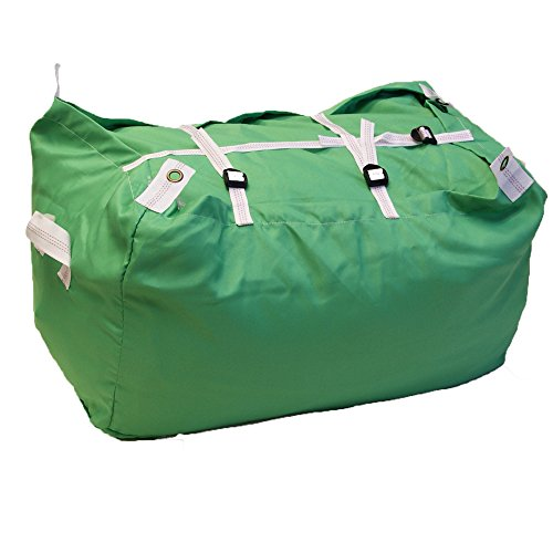 trio-buckle-and-strap-closure-laundry-hamper-in-green