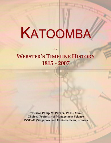 Katoomba: Webster's Timeline History, 1815 - 2007