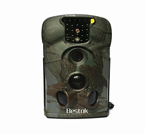 Bestok Ltl-5210A Angolo Stretto Macchine Fotografiche da Caccia PIR Visione Notturna Grandangolare 140° Schermo LCD Hunting Camera Con Scheda SD 8GB