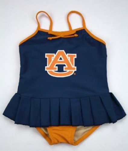 Auburn Tigers Cheerleader Toddler Swimsuit - 2-T at Amazon.com