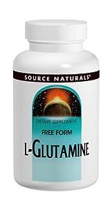Source Naturals L-Glutamine Powder, 16 Ounce