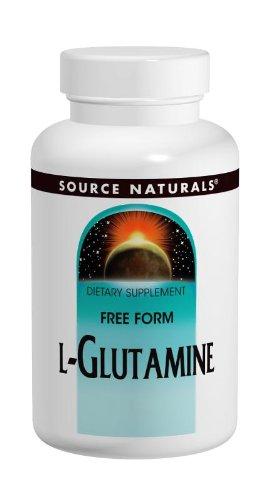 Source Naturals L-Glutamin Freiform-Aminosäure Pulver 453,6 g