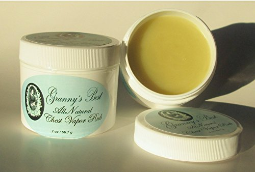 Granny's Best All Natural Chest Vapor Rub Ointment
