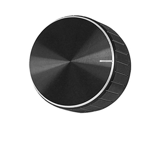 uxcell Black Aluminum Volume Control Amplifier Knob Wheel (Control Knob compare prices)