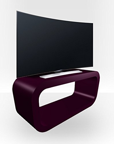 TV Stand Hooptangle - Purple Gloss