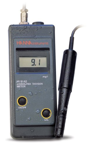 Hanna Instruments HI 9142W Disolved Oxygen Wine Meter For Measurements Taken Directly From The Bottle