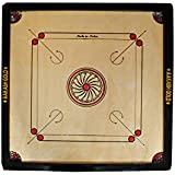SKY Cut Pocket Carrom Board With COINS, STRIKER & CARROM POWDER